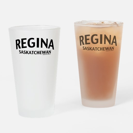 Regina Saskatchewan Drinking Glass