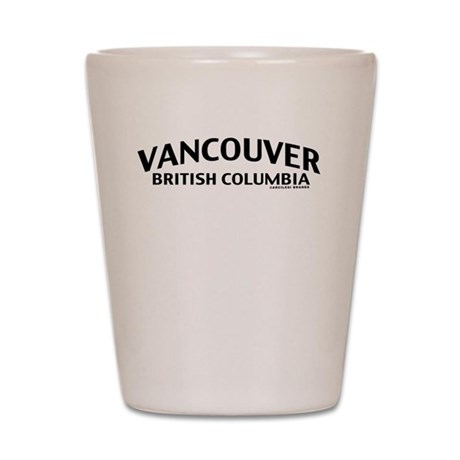 Vancouver British Columbia Shot Glass