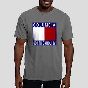 citycolourblock_cola Mens Comfort Colors Shirt