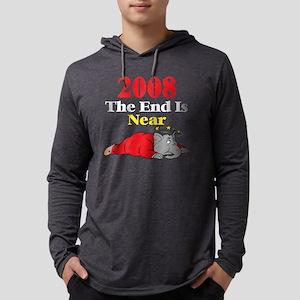 The End Is Near, dark shirts Mens Hooded Shirt
