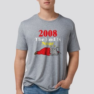 The End Is Near, dark shirt Mens Tri-blend T-Shirt