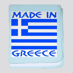 Made in Greece baby blanket
