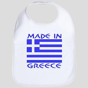 Made in Greece Bib