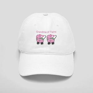 Grandma of Twins (Girls) Cap