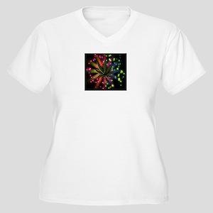 It's 420 somewhere Women's Plus Size V-Neck T-Shir
