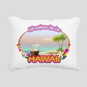 HAWAII 2 Rectangular Canvas Pillow