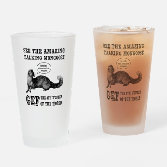 Gef The Talking Mongoose Drinking Glass