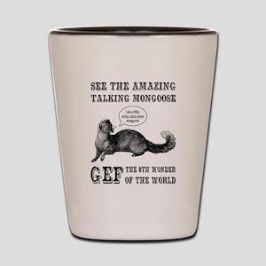 Gef The Talking Mongoose Shot Glass