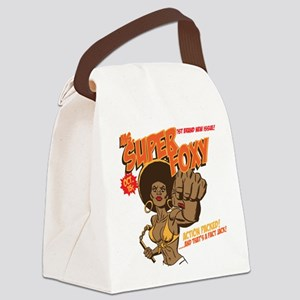 Ms. Super Foxy Canvas Lunch Bag