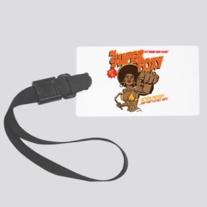 Ms. Super Foxy Large Luggage Tag