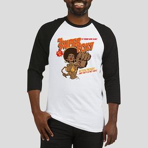 Ms. Super Foxy Baseball Jersey