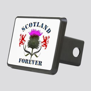 Scotland Forever Thistle Rectangular Hitch Cover