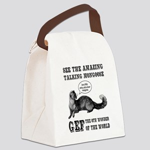 Gef The Talking Mongoose Canvas Lunch Bag