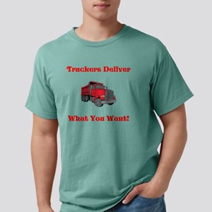 Truckers Deliver Fathers Mens Comfort Colors Shirt