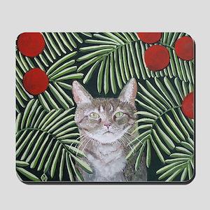 """""""Rousseau's Dream Cat"""" Mousepad"""