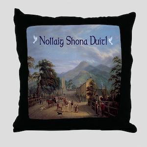 Carlingford Christmas Throw Pillow