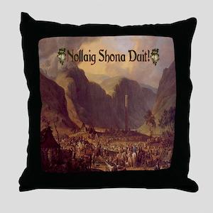 Glendalough Christmas Throw Pillow