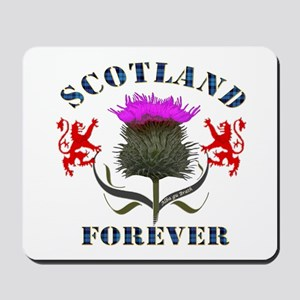 Scotland Forever Thistle Mousepad