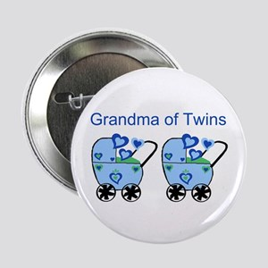 Grandma of Twins (Boys) Button