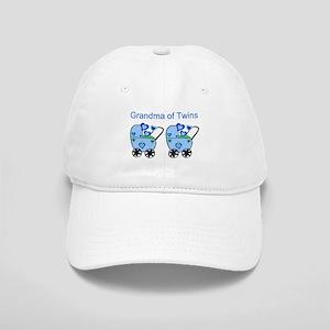 Grandma of Twins (Boys) Cap