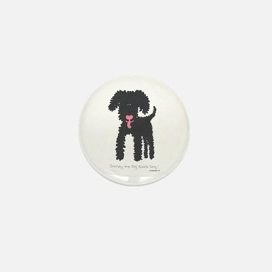 Barney Mini Button