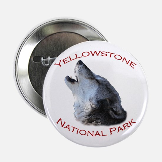 "Yellowstone National Park...Wolf Howling 2.25"" But"