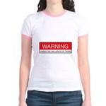 Under Influence of Twins Jr. Ringer T-Shirt
