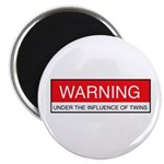 Under Influence of Twins Magnet