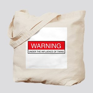 Under Influence of Twins Tote Bag