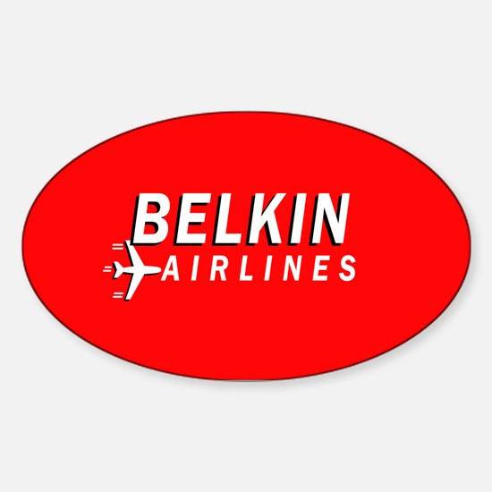 Belkin Airlines - Oval Decal