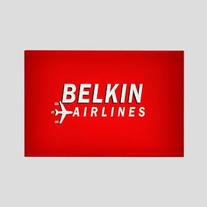 Belkin Airlines - Rectangle Magnet
