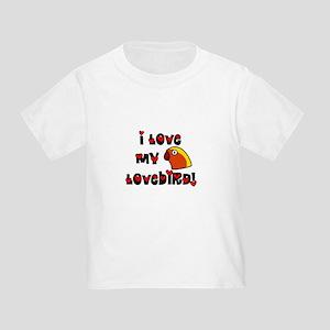 Anime Fischer's Lovebird Toddler T-Shirt