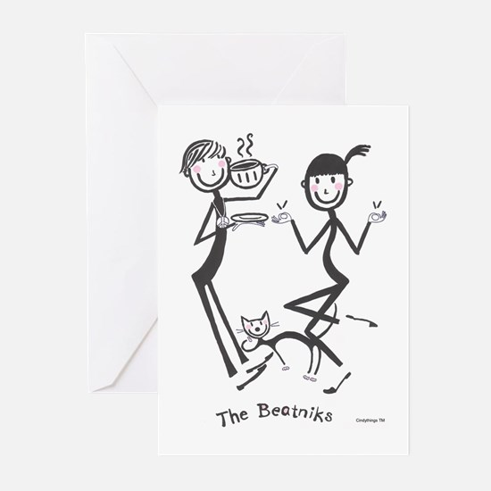 Beatniks Greeting Cards (Pk of 10)