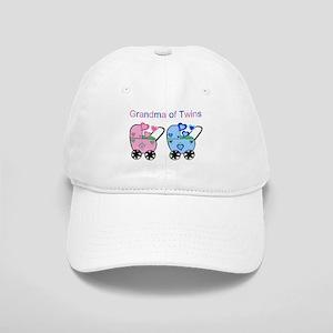 Grandma of Twins (Girl & Boy) Cap
