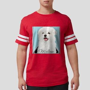Cute Maltese Mens Football Shirt