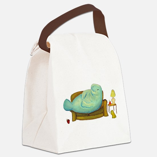 Manny Canvas Lunch Bag