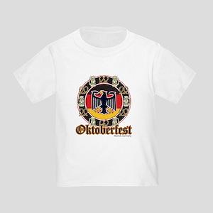 Oktoberfest Beer and Pretzels Toddler T-Shirt