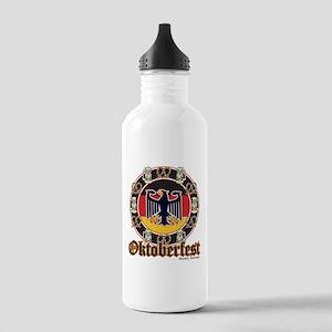 Oktoberfest Beer and Pretzels Stainless Water Bott