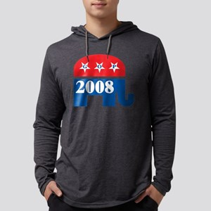 GOP 2008, dark shirts Mens Hooded Shirt