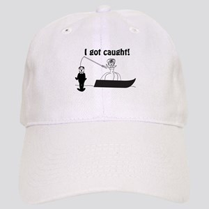 I Got Caught Groom Fishing Cap