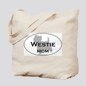 Westie MOM Tote Bag