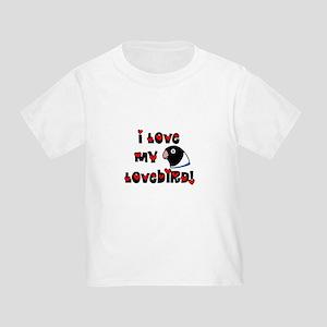 Anime Blue Lovebird Toddler T-Shirt
