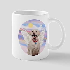Yellow Labrador Angel Mug