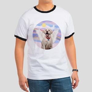 Yellow Labrador Angel Ringer T