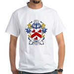Shouster Coat of Arms White T-Shirt