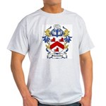 Shouster Coat of Arms Ash Grey T-Shirt