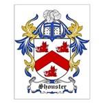 Shouster Coat of Arms Small Poster