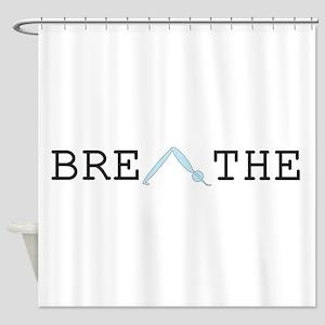 Yoga Breathe 2 Shower Curtain