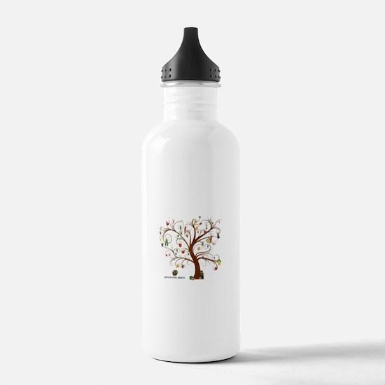 Cute Organic Sports Water Bottle