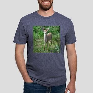 Baby Deer Ps 41 1 tote bag  Mens Tri-blend T-Shirt